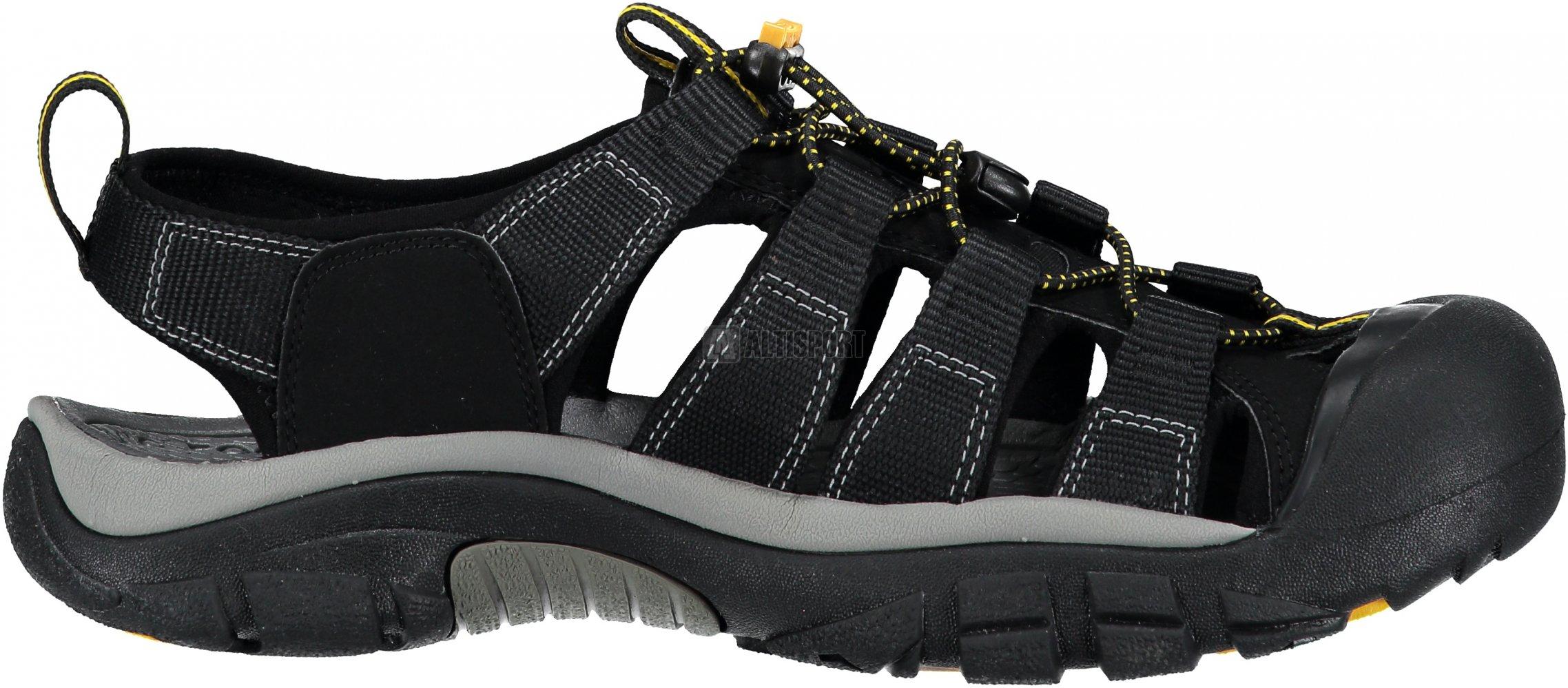 07f6ca469d0c Pánské sandále KEEN NEWPORT H2 M BLACK velikost  44 ( 9