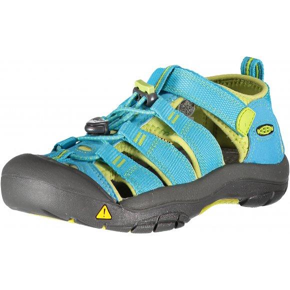 Dětské boty sandále KEEN NEWPORT H2 JR HAWAIIAN BLUE GREEN GLOW