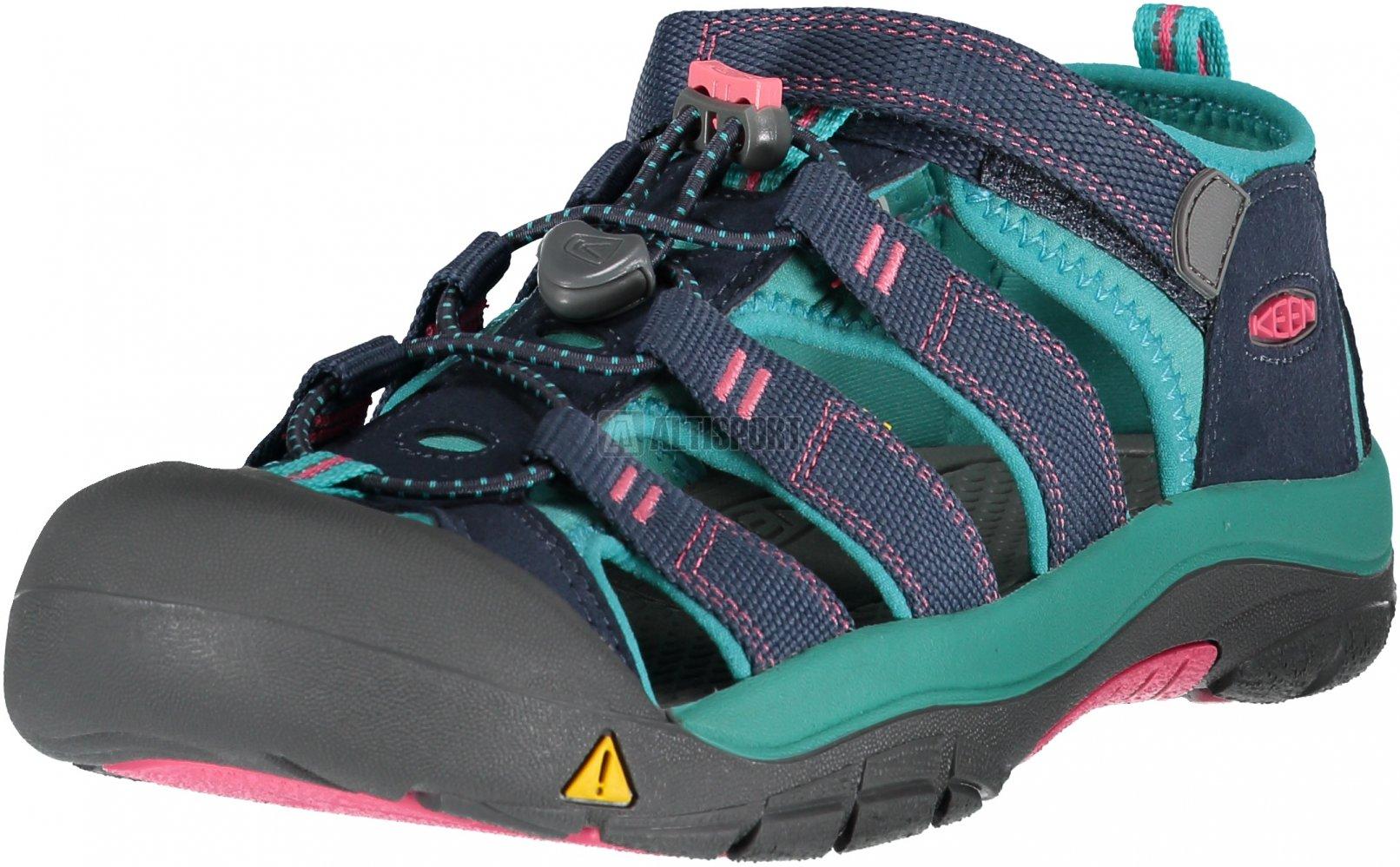 6aba23049257 Dětské sandále KEEN NEWPORT H2 JR MIDNIGHT NAVY BALTIC velikost  EU ...