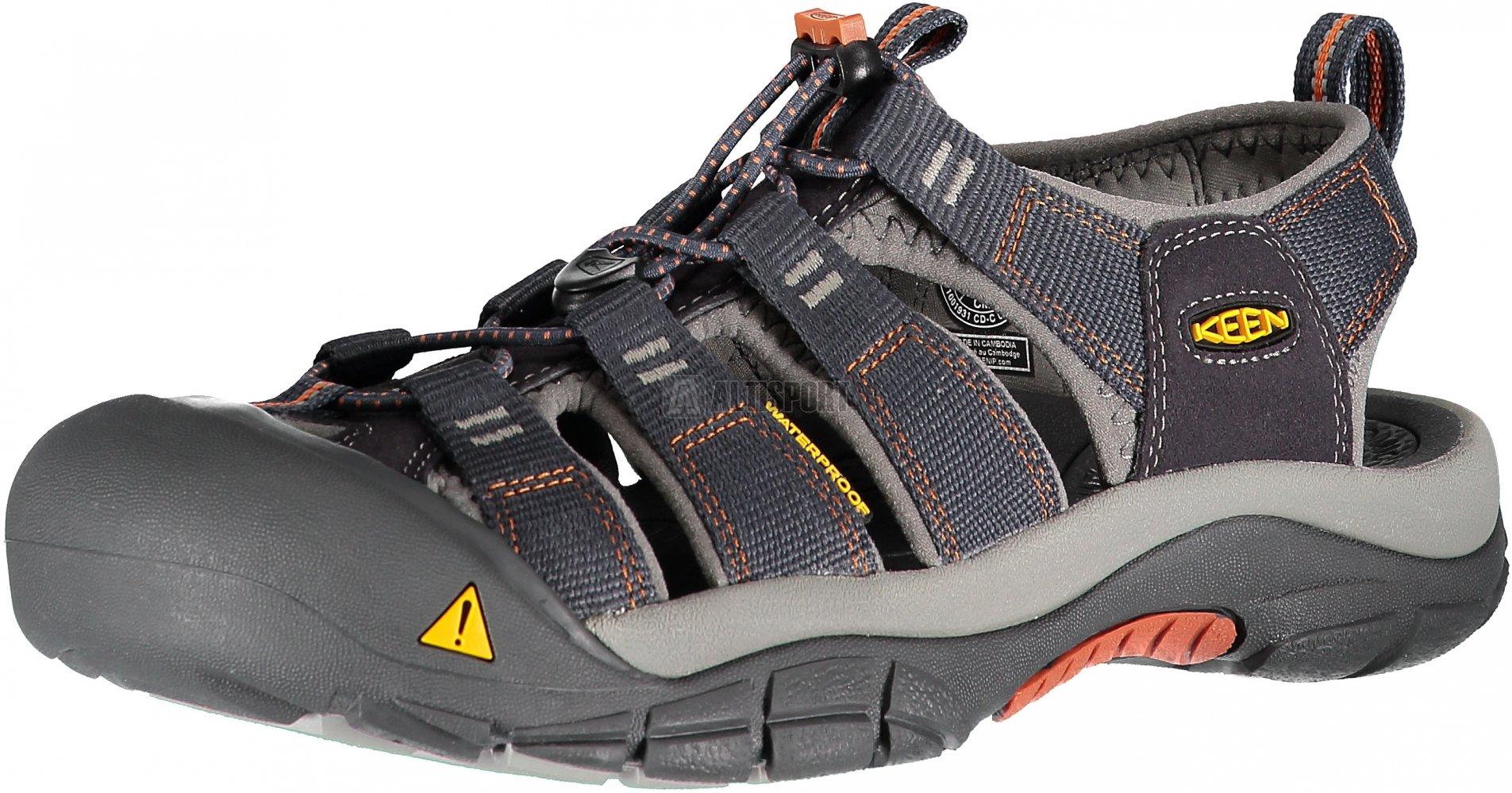 ed1025d43a6f Pánské sandále KEEN NEWPORT H2 M INDIA INK RUST velikost  42 ( 8 ...