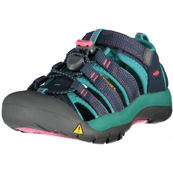 Dětské sandále KEEN NEWPORT H2 K MIDNIGHT NAVY/BALTIC