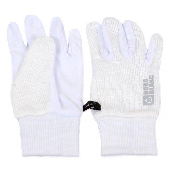 Dámské pletené rukavice NORDBLANC COMET NBWG4725 BÍLÁ