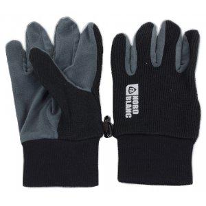 Dámské pletené rukavice NORDBLANC COMET NBWG4725 ČERNÁ