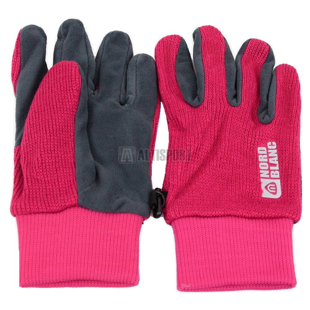 Dámské pletené rukavice NORDBLANC COMET NBWG4725 RŮŽOVÁ ef97925134