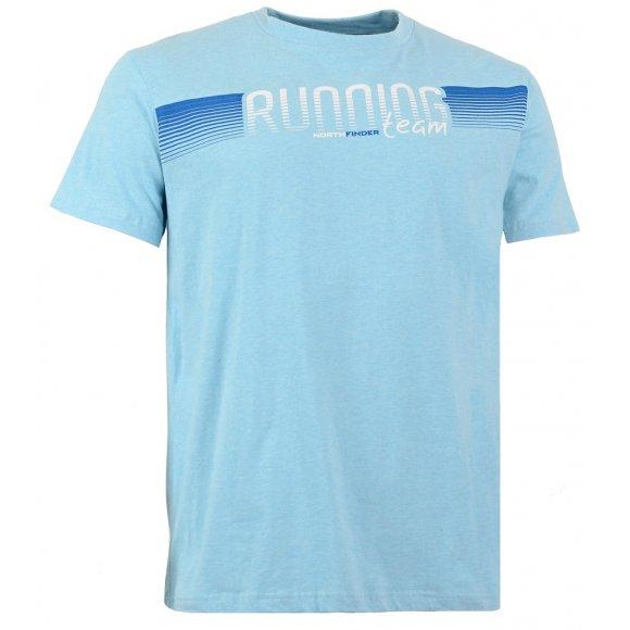 Pánské triko s krátkým rukávem NORTHFINDER PHILLIP TR-3150SII TYRKYSOVÁ
