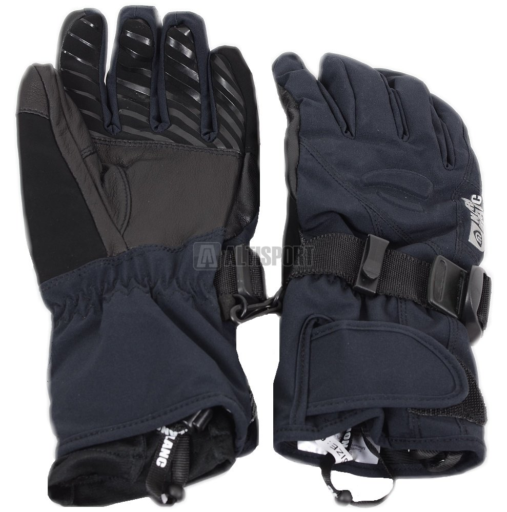 Dámské lyžařské rukavice NORDBLANC STEEP NBWG4730 ČERNÁ velikost  6 ... 33fc51ee4e