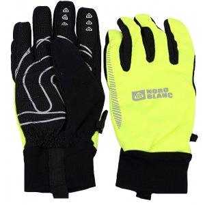 Softshellové rukavice NORDBLANC VIGOUR NBWG4700 ZELENÁ JEŠTĚRKA 786398fab9