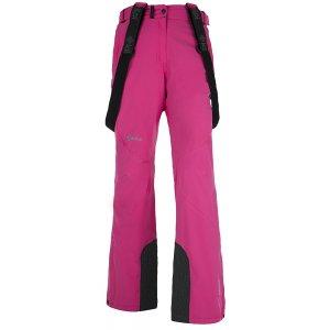 Dámské zimní kalhoty KILPI ISABELLE RŮŽOVÁ