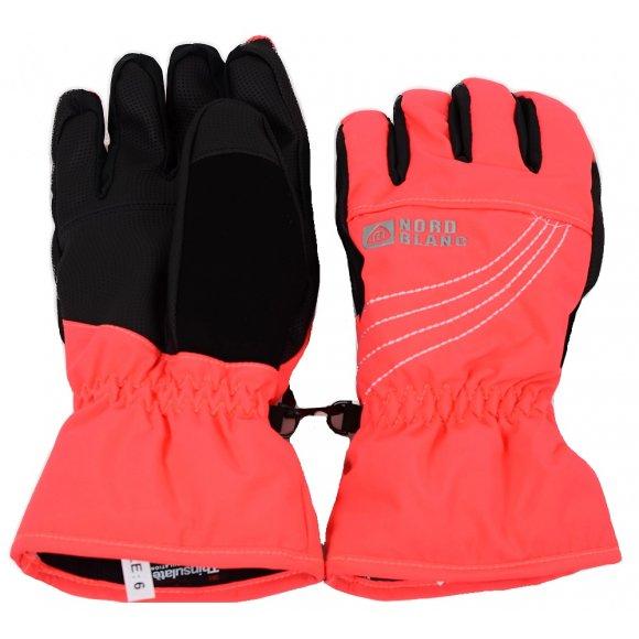 Dámské lyžařské rukavice NORDBLANC SCOUT NBWG4728 RŮŽOVÁ DIVA