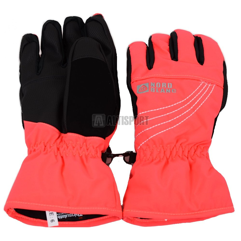 81c4d8f1a99 Dámské lyžařské rukavice NORDBLANC SCOUT NBWG4728 RŮŽOVÁ DIVA ...