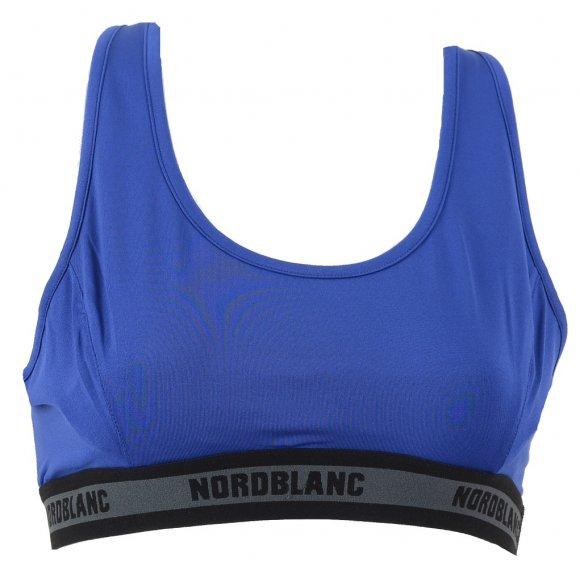 Dámská sportovní podprsenka NORDBLANC BALANCE NBSLF5585 MODRÁ