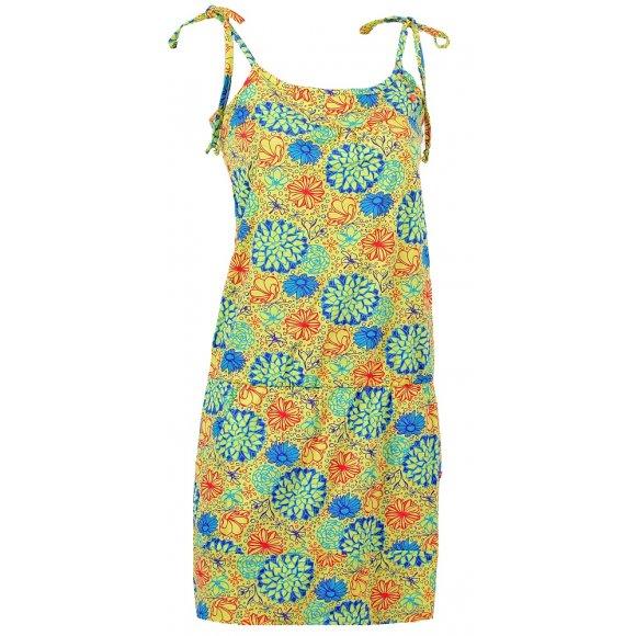 Dámské sportovní šaty LOAP ANDY CLW1629 SVĚTLE ŽLUTÁ