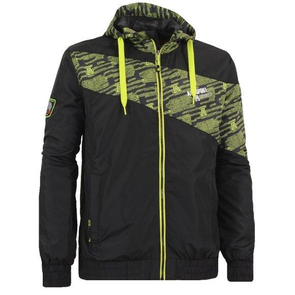 Chlapecká outdoorová bunda ALTISPORT DREAN-J ALJS16064 ČERNÁ