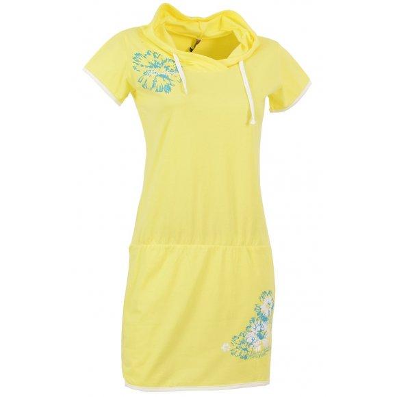 Dívčí šaty ALTISPORT BARISA-J ALJS16030 ŽLUTÁ