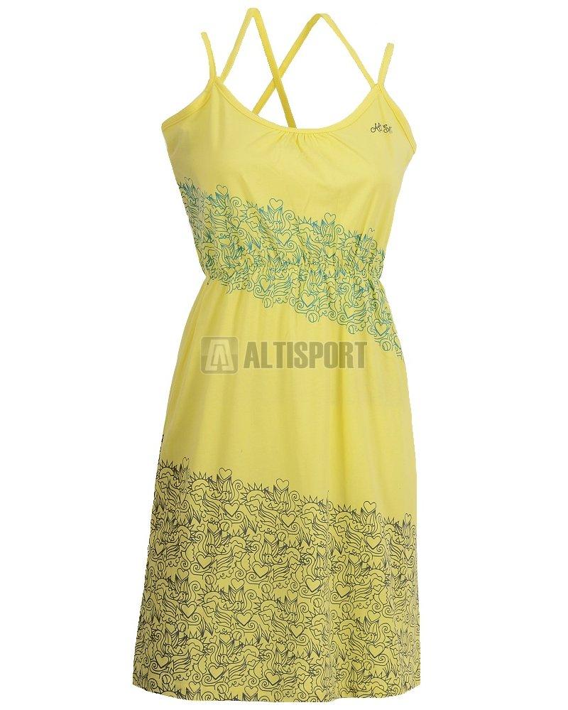 a14a933e1d6 Dívčí šaty ALTISPORT EUDE-J ALJS16036 ŽLUTÁ velikost  158-164 ...