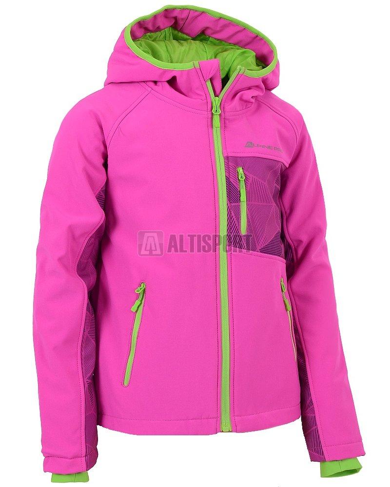 Dětská bunda softshell ALPINE PRO TAKHO INS. RŮŽOVÁ velikost  164 ... 55b34dc400
