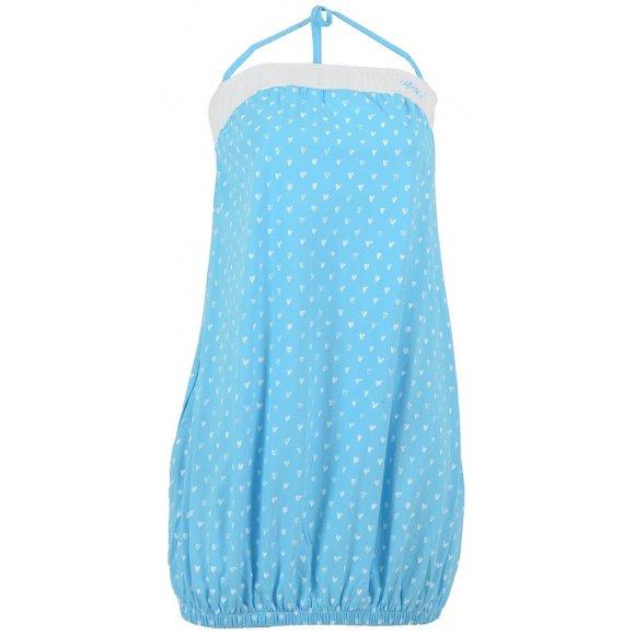 Dětské šaty ALTISPORT MATY-J ALJS16035 SVĚTLE MODRÁ