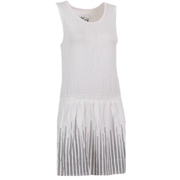 Dámské šaty KIXMI ASHLEY AALDS16601 BÍLÁ