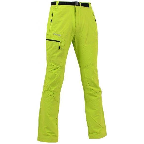 Pánské outdoorové kalhoty ALTISPORT IGNAS ALMS16013 ZELENÁ