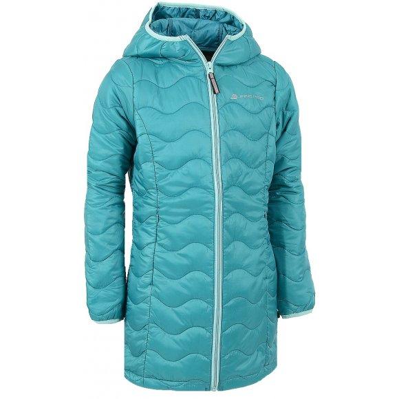 Dětský zimní kabát ALPINE PRO ADRIANNO ZELENÁ