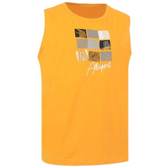 Pánské triko bez rukávu ALTISPORT PAZ ALMS16020 ŽLUTÁ