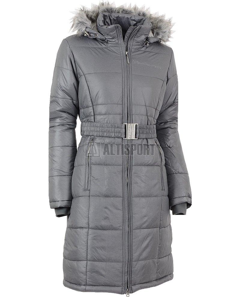 82e53a2cd49 Dámský zimní kabát ALPINE PRO THERESE TMAVĚ ŠEDÁ velikost  XS ( 34 ...