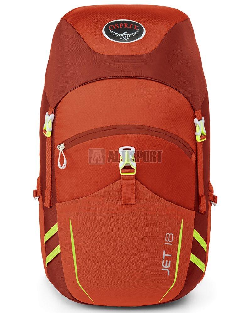 6481e57ccd Dětský turistický batoh OSPREY JET 18 STRAWBERRY RED velikost  18 l ...