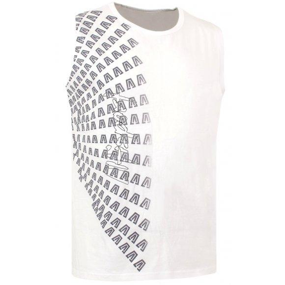 Chlapecké triko bez rukávu ALTISPORT JUNIPER-J ALJS16021 BÍLÁ