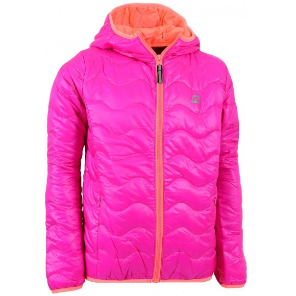 Dětská zimní bunda ALPINE PRO SOLO RŮŽOVÁ