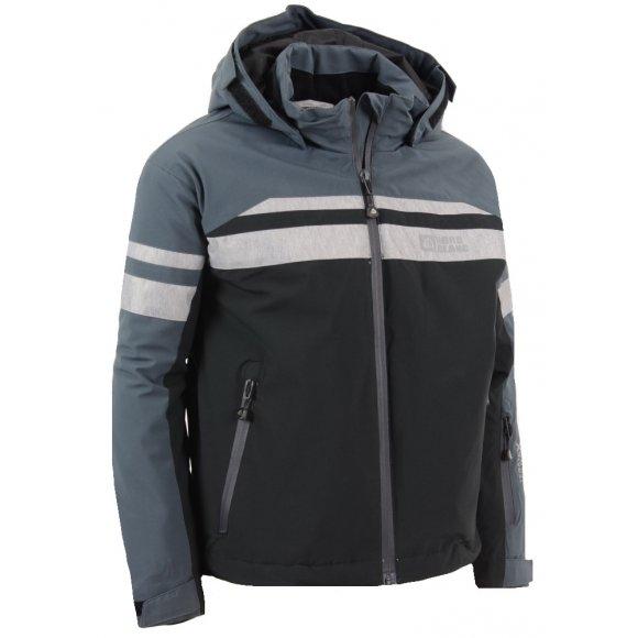 Dětská zimní bunda NORDBLANC YEARN NBWJK5906S ČERNÁ