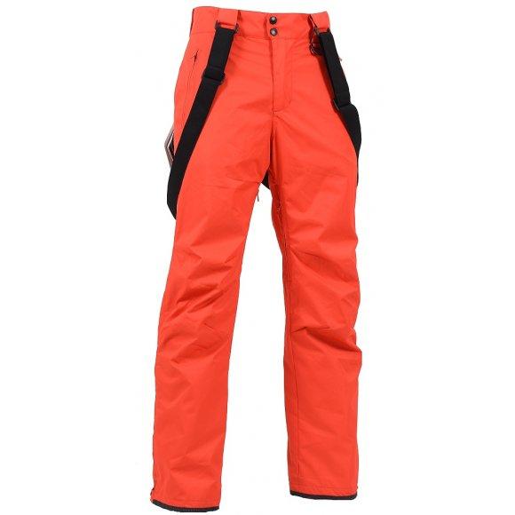 Pánské zimní kalhoty NORTHFINDER LANGDON NO-3245SNW ČERVENÁ