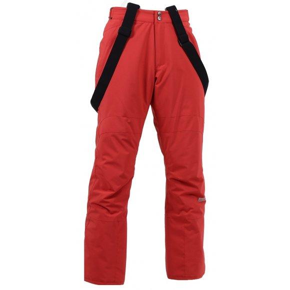 Pánské lyžařské kalhoty NORDBLANC LOFTY NBWP5994 TMAVĚ ČERVENÁ