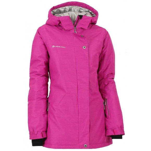 Dámská zimní bunda ALPINE PRO SILEDEA 3 RŮŽOVÁ