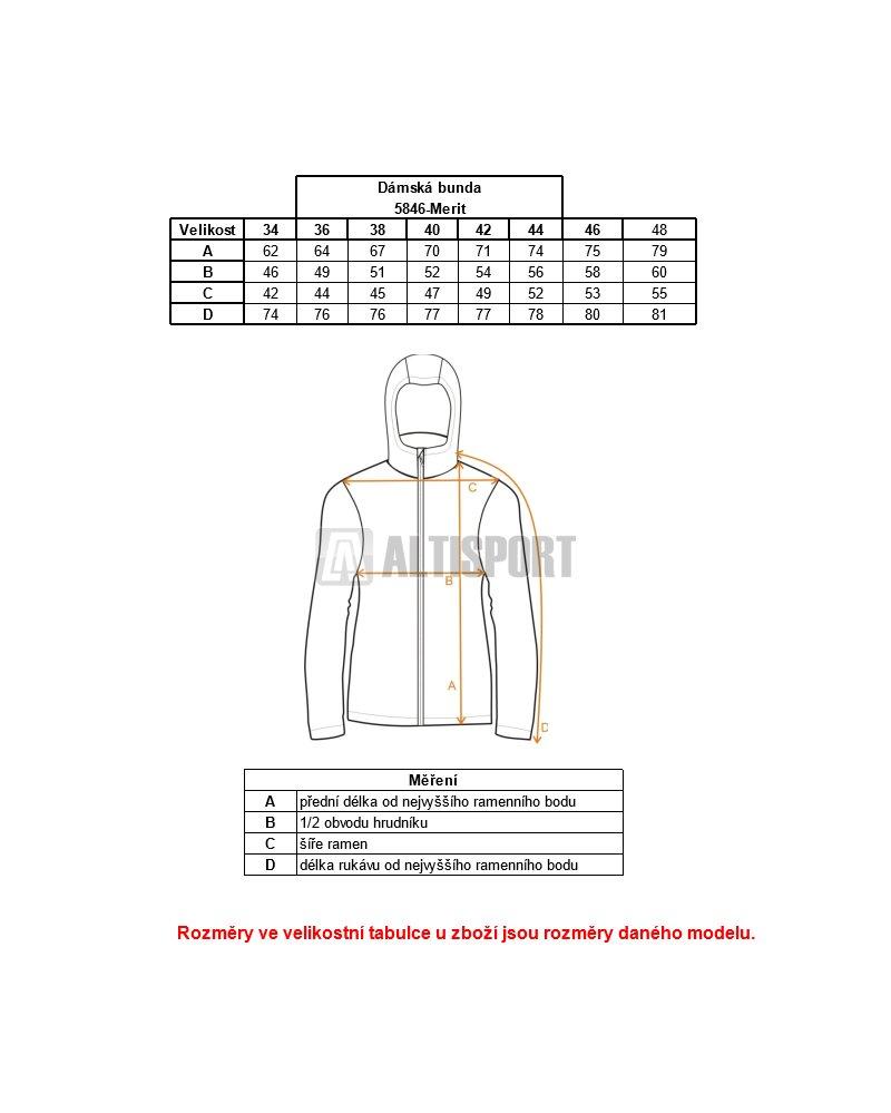 Dámská zimní bunda NORDBLANC MERIT NBWJL5846 TMAVĚ RŮŽOVÁ velikost ... f986b58aa7