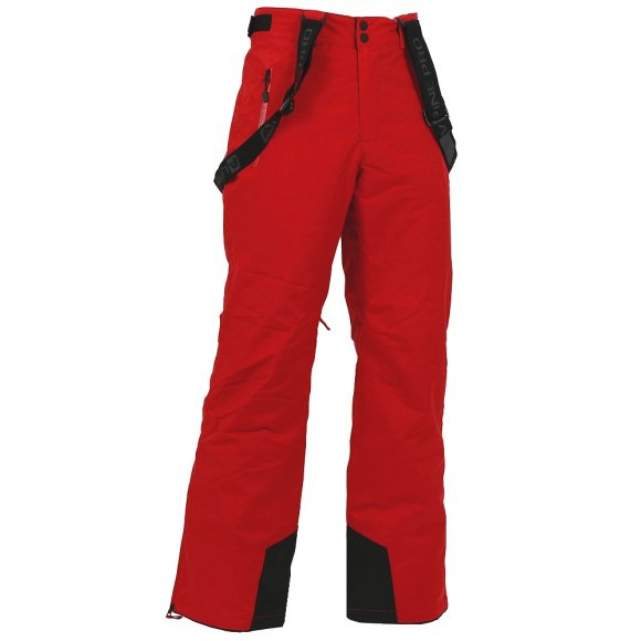 Pánské lyžařské kalhoty ALPINE PRO MOLINI 2 ČERVENÁ