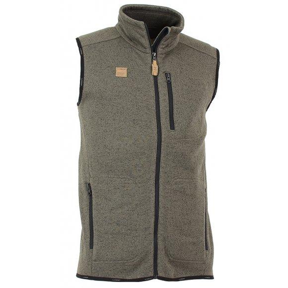 Pánská vesta  LOAP GARRY OLM1631 HNĚDÁ