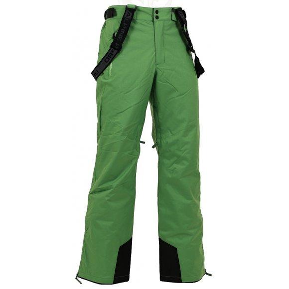 Pánské lyžařské kalhoty ALPINE PRO MOLINI 2 ZELENÁ