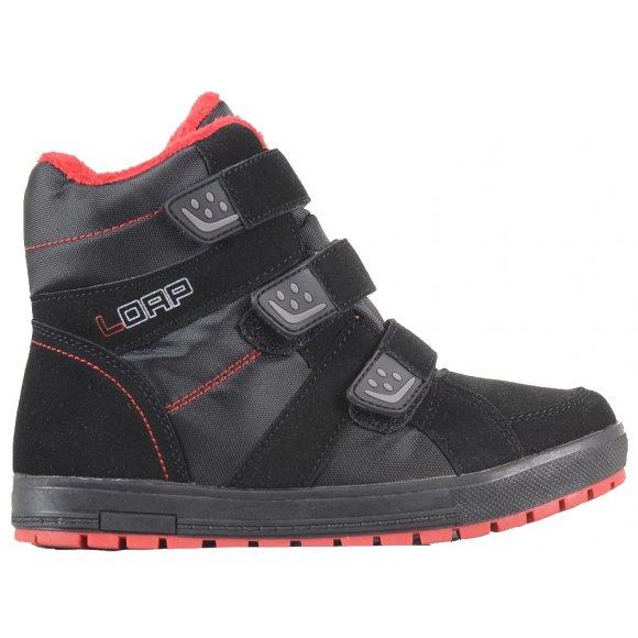 Dětské zimní boty LOAP MANIC KBJ1655 ČERNÁ