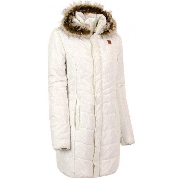 Dámský zimní kabát LOAP TAFETA CLW1685 BÍLÁ