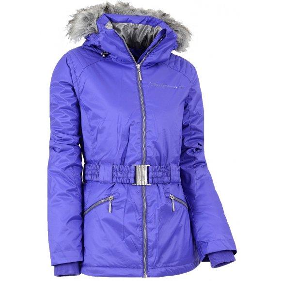 Dámská zimní bunda ALPINE PRO MEMKA FIALOVÁ