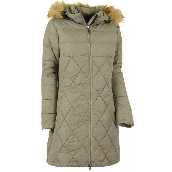 Dámská zimní bunda NORTHFINDER YVONNE BU-4328SP ZELENÁ