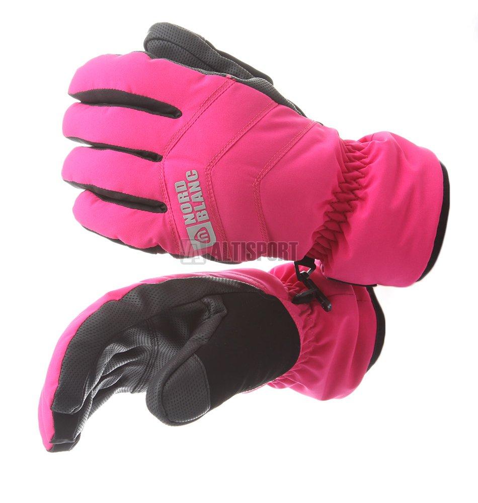 a30fac80197 Lyžařské rukavice NORDBLANC CRUCIAL NBWG5977 TMAVĚ RŮŽOVÁ
