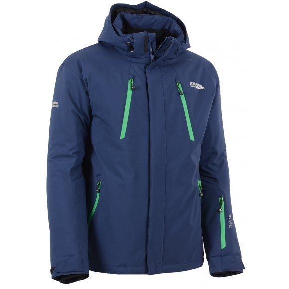 Pánská lyžařská bunda NORDBLANC LIFE NBWJM5807 MODRÁ