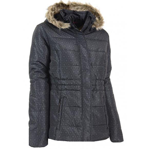 Dámská zimní bunda LOAP TONINA CLW1690 ČERNÁ