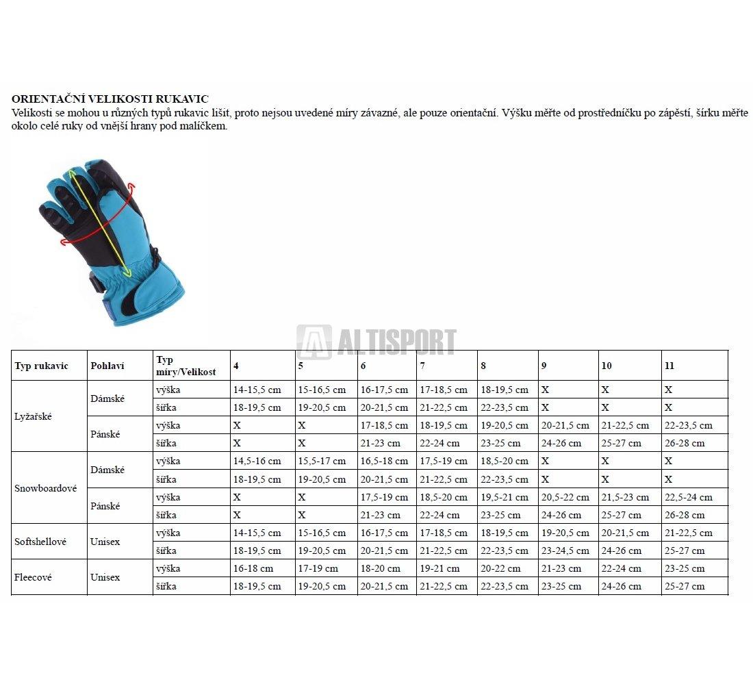 Dámské fleecové rukavice NORDBLANC NECESSARY NBWG5979 BÍLÁ velikost ... 71153b88bb
