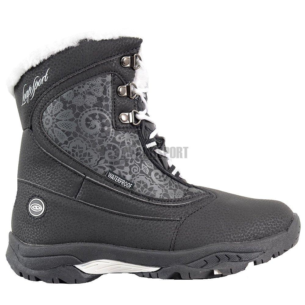 Dětské zimní boty LOAP SPIRIT KBJ1652 ČERNOBÍLÁ velikost  29 ... 68e5874ff9