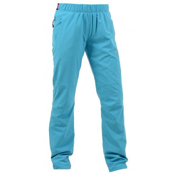 Dámské outdoorové kalhoty NORDBLANC FATED NBFPL5895 BAZÉNOVĚ MODRÁ