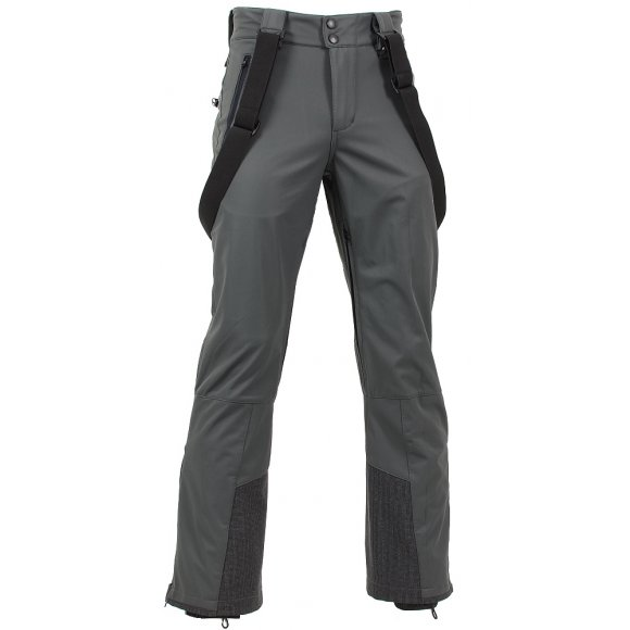 Pánské softshellové kalhoty NORTHFINDER CYRUS NO-3241SNW ŠEDÁ