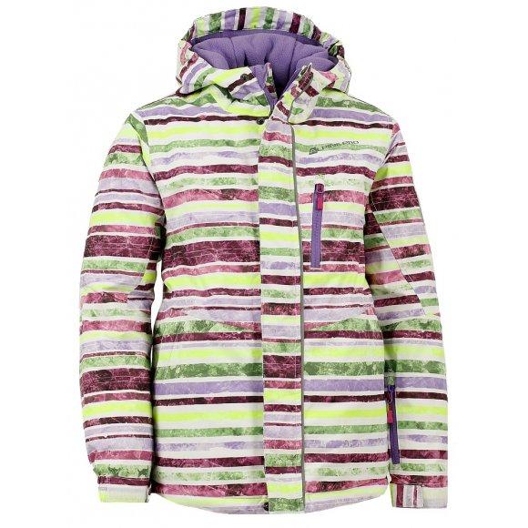 Dětská zimní bunda ALPINE PRO MURDO BÍLÁ