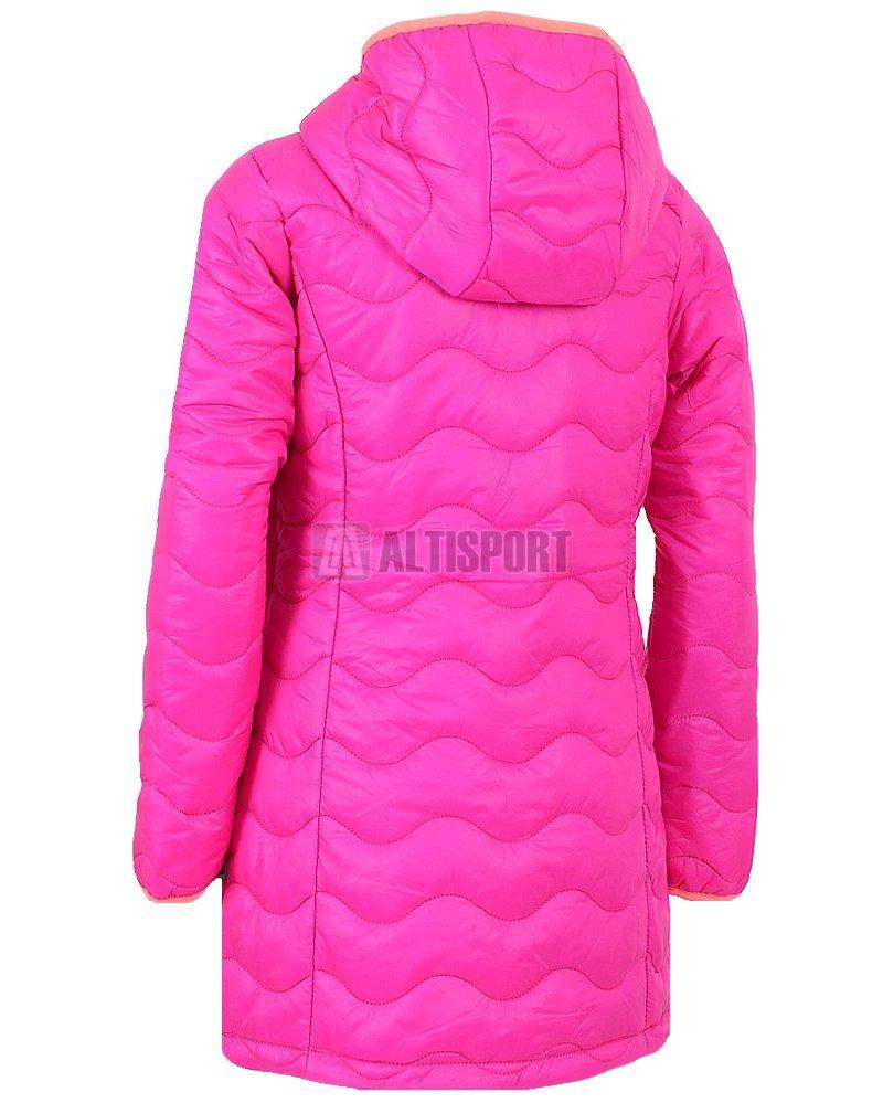 Dětský dlouhý kabát ALPINE PRO SIERRO RŮŽOVÁ ab5d7fca02